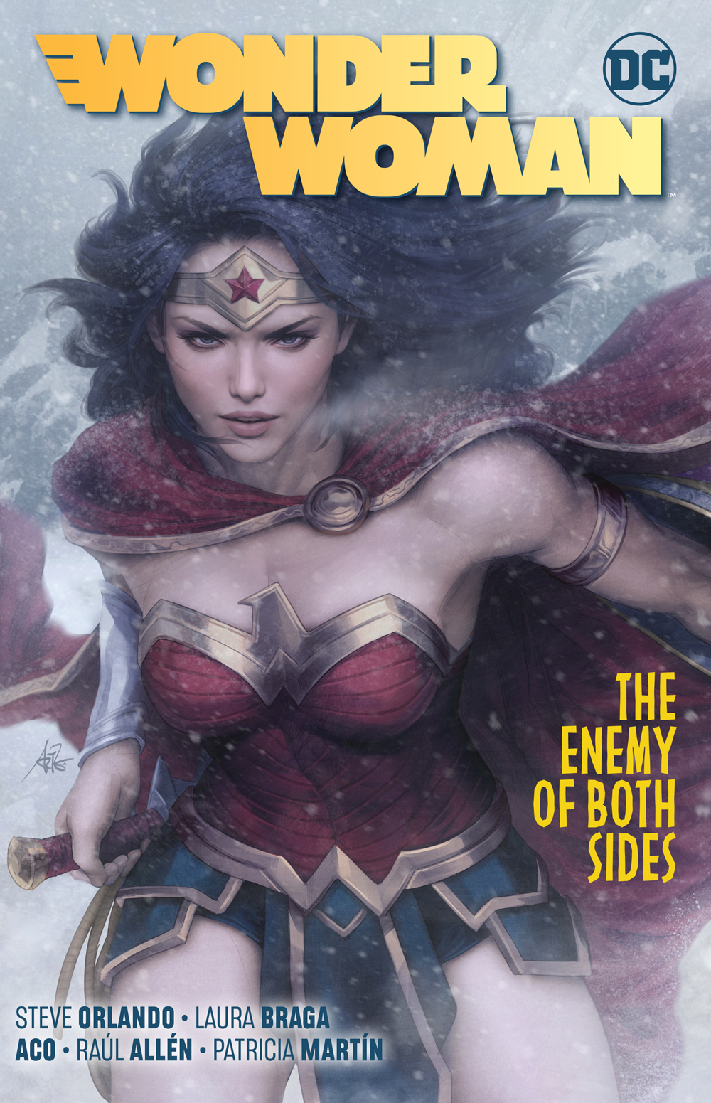 Wonder Woman: Volume 9: The Enemy of Both Sides TP