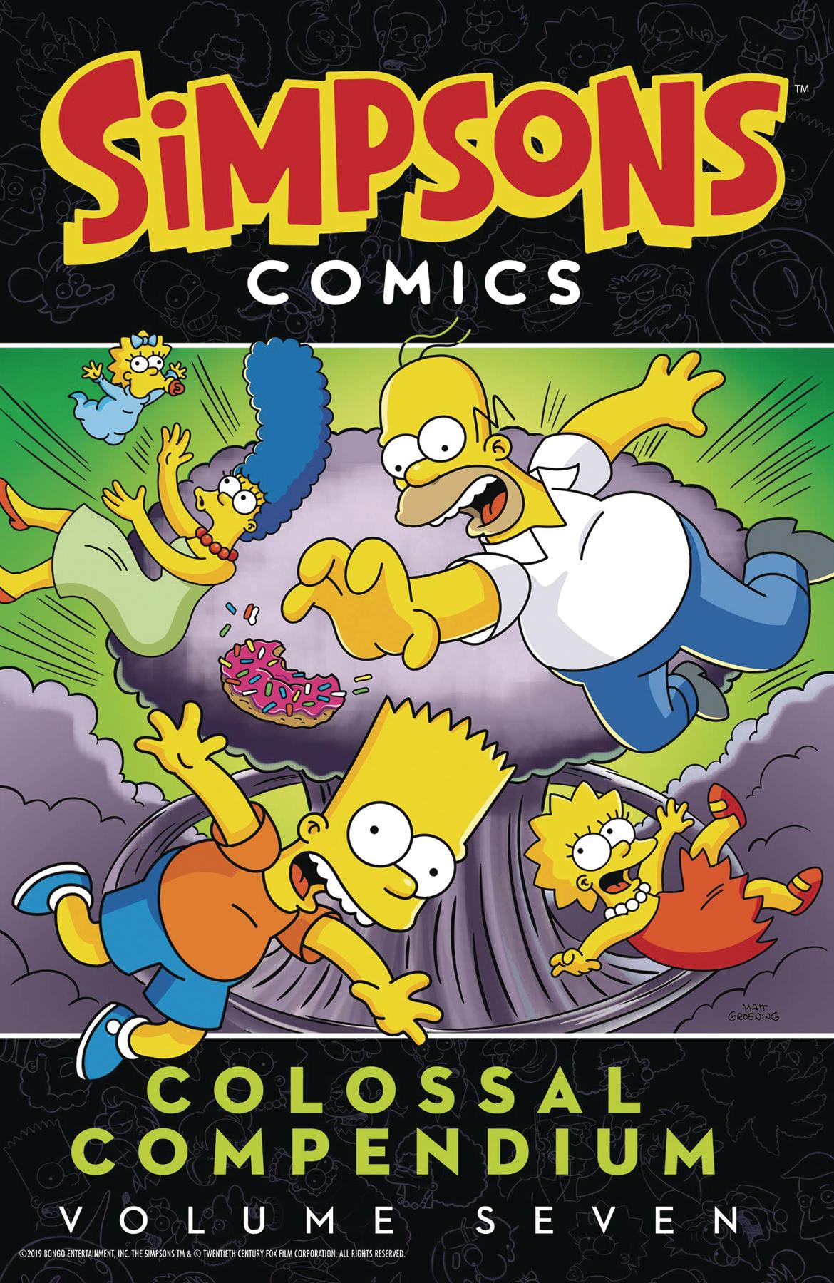Simpsons Comics: Colossal Compendium Volume 7 TP