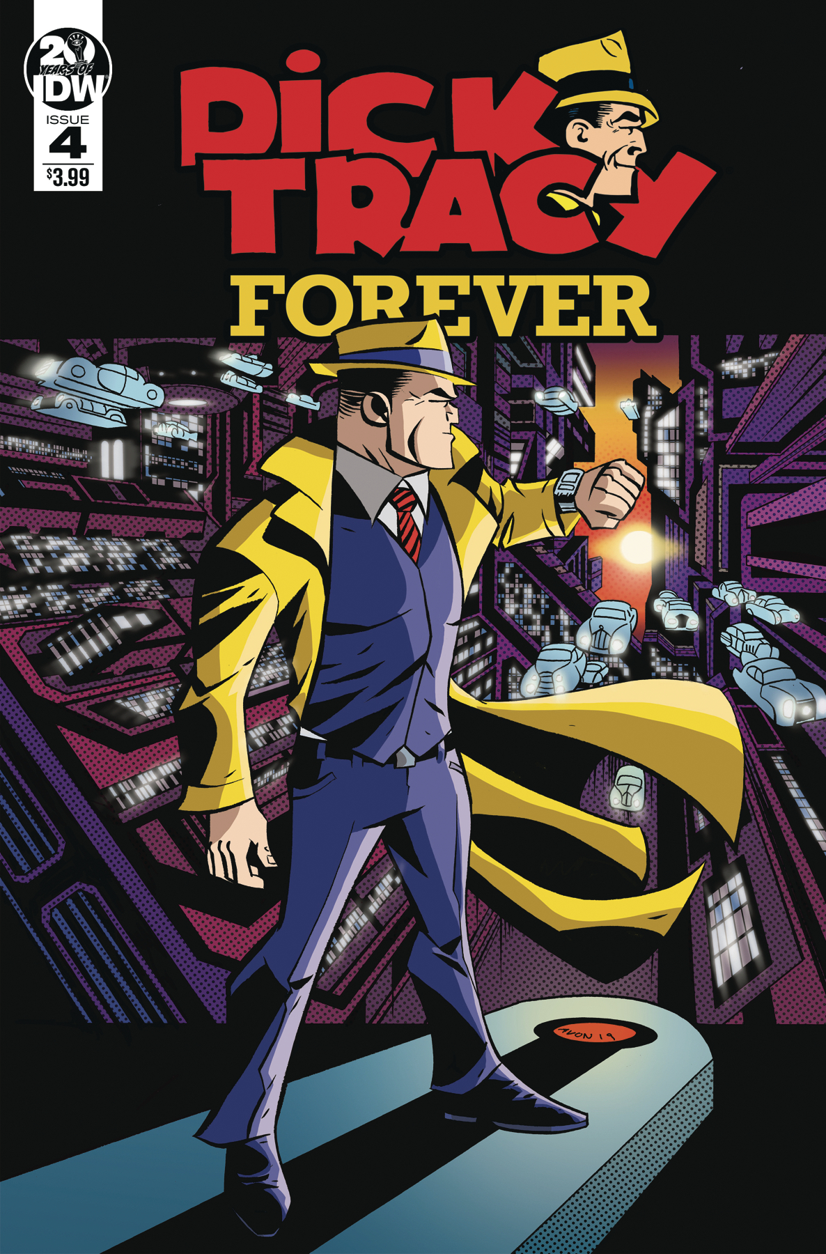 Dick Tracy: Forever no. 4 (2019 Series)