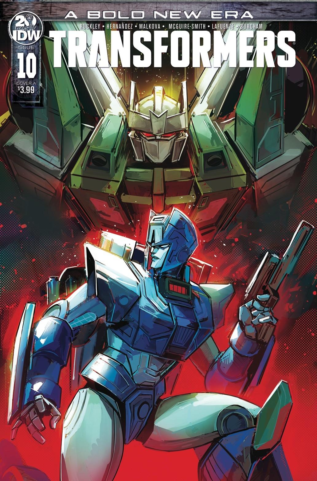 Transformers no. 10 (2019 Series)