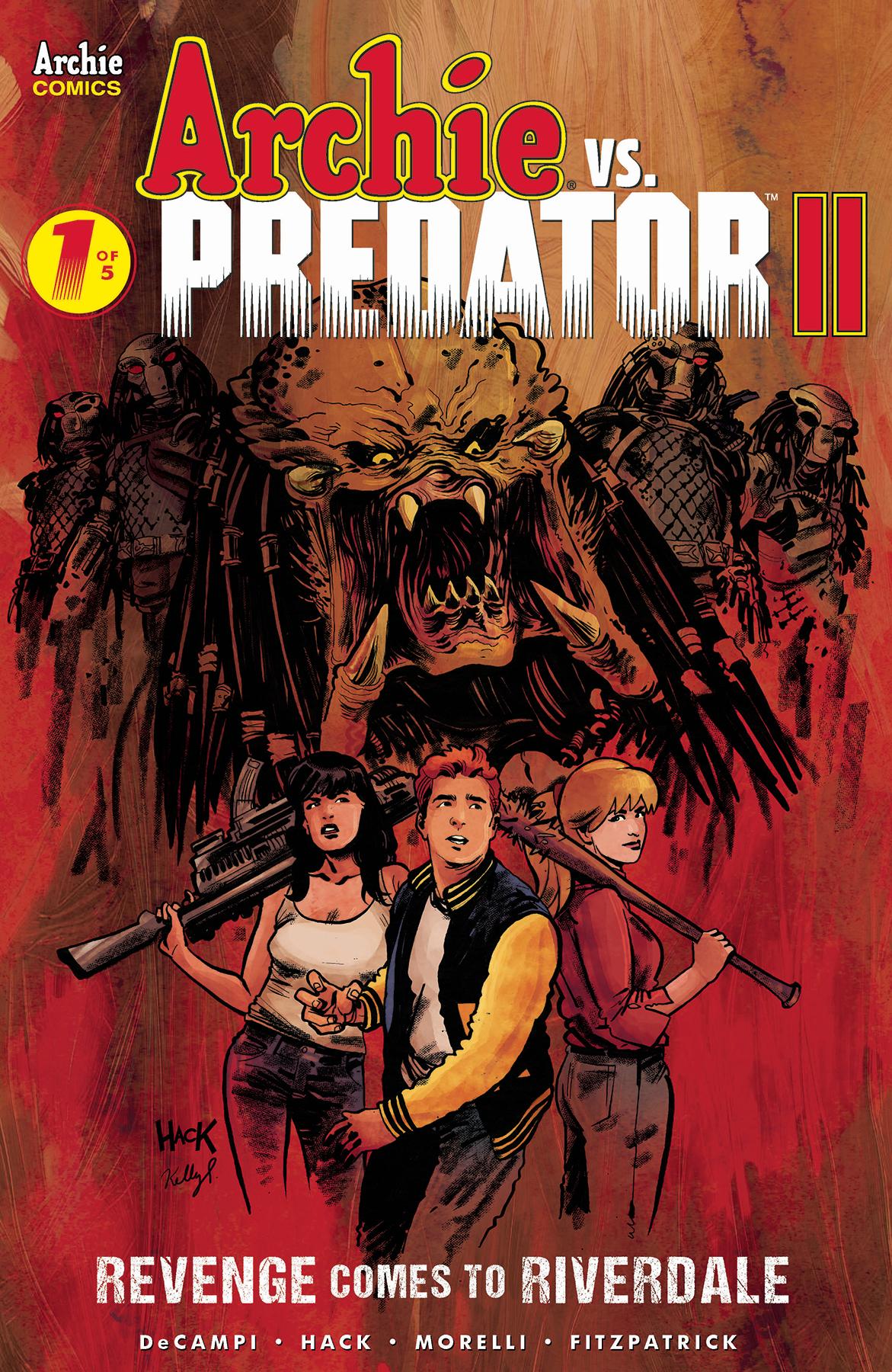 Archie vs Predator 2 no. 1 (1 of 5) (2019 Series)