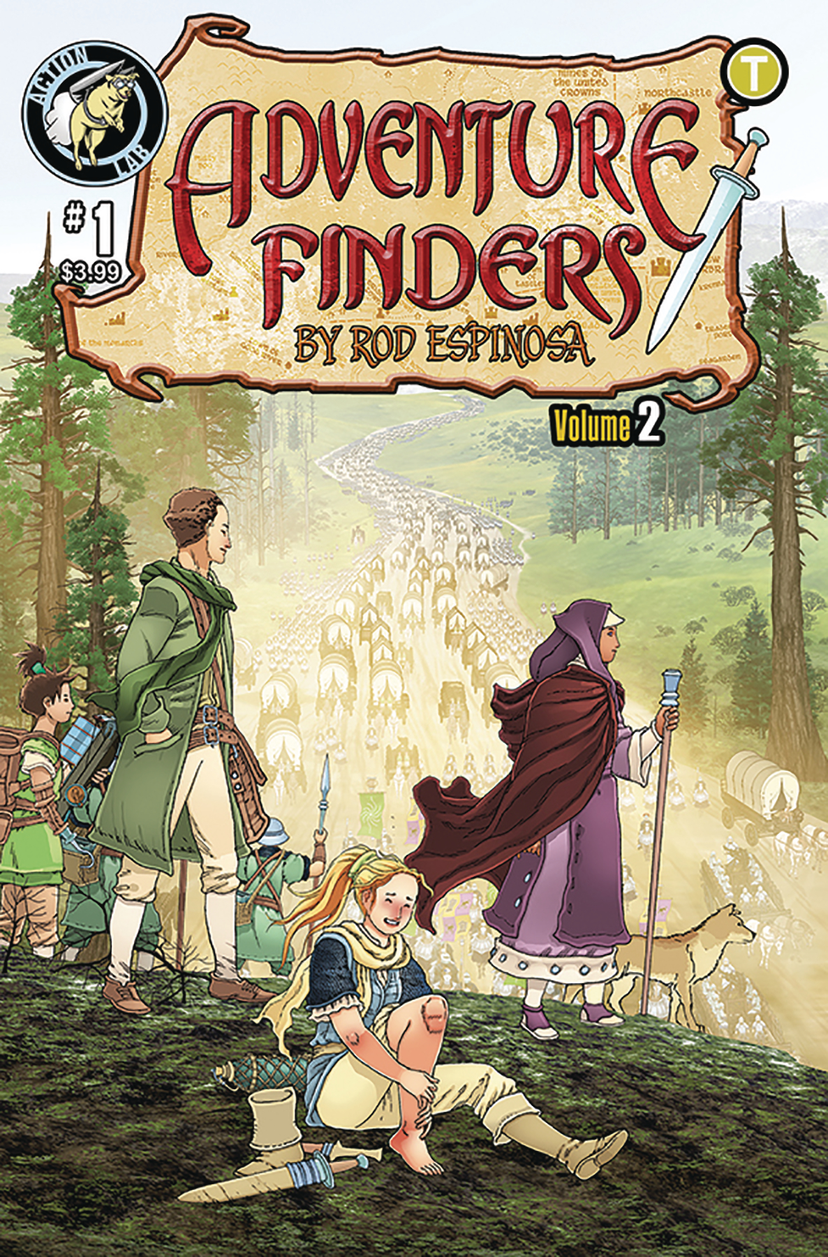 Adventure Finders: Edge of the Empire no. 1 (2019 Series)
