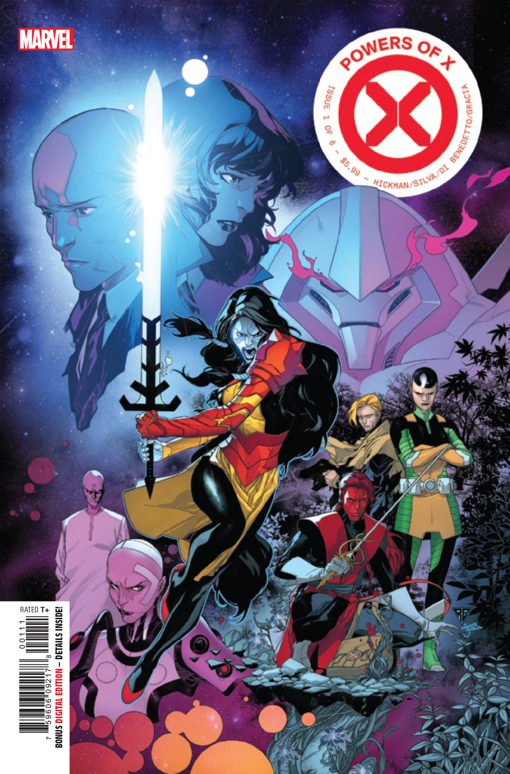 Powers of X no. 1 (1 of 6) (2019 Series)