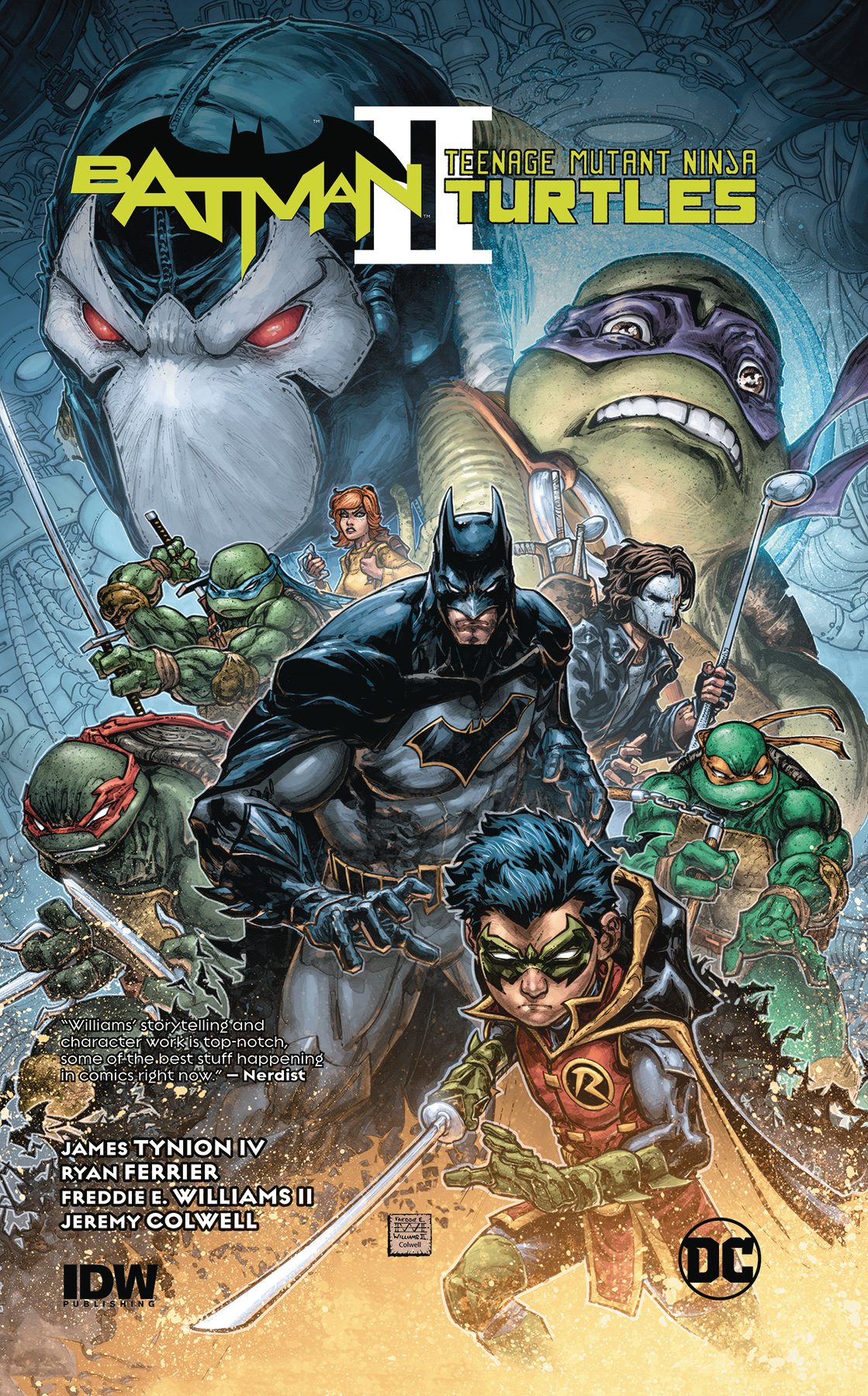 Batman Teenage Mutant Ninja Turtles II TP