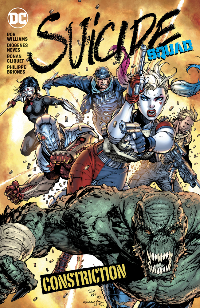 Suicide Squad Volume 8: Constriction TP (Rebirth)