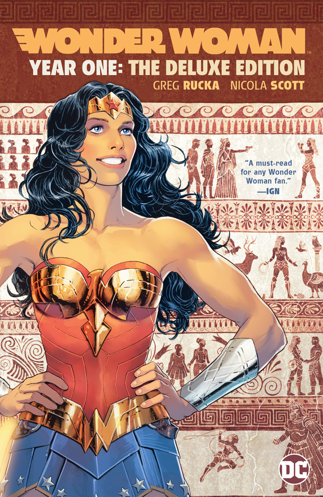 Wonder Woman: Year One Deluxe Edition HC