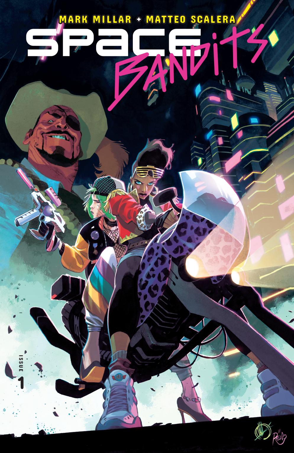 Space Bandits no. 1 (1 of 5) (2019 Series)