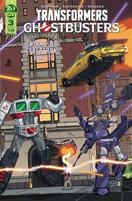 Transformers Ghostbusters no. 3 (2019 Series)