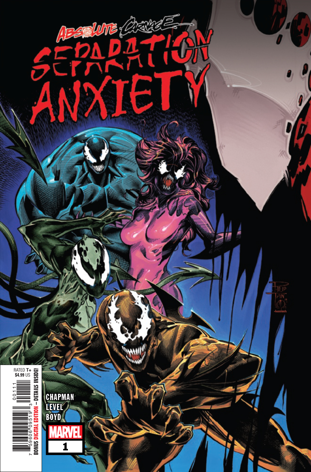 Absolute Carnage: Separation Anxiety no. 1 (2019 Series)