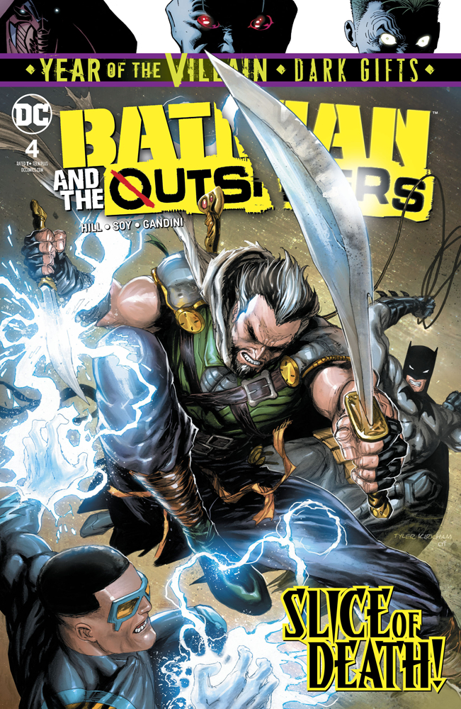 Batman and the Outsiders no. 4 (2019 Series)