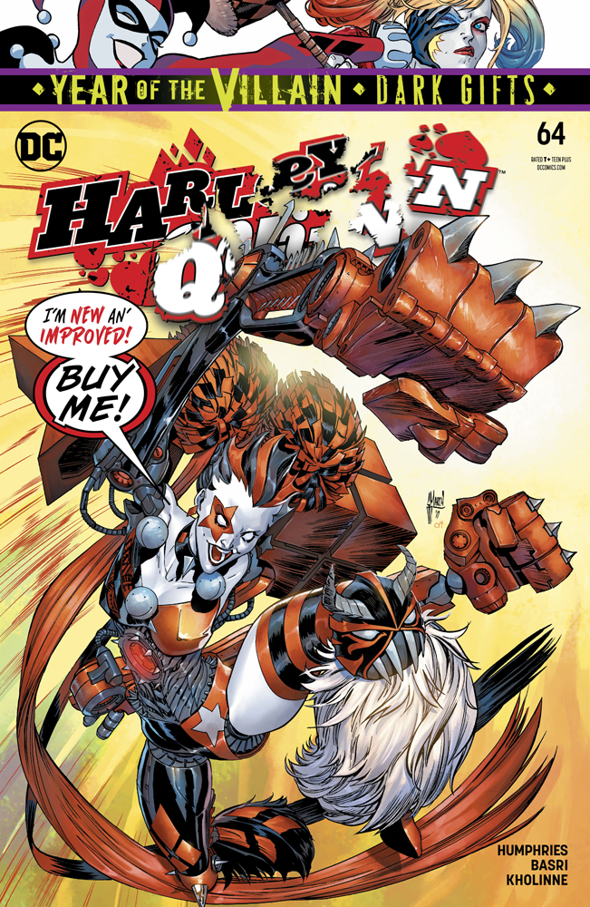 Harley Quinn no. 64 (2016 Series)