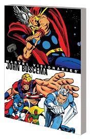 Marvel Visionaries TP John Buscema (2019 series)