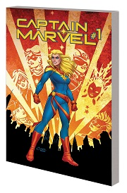 Captain Marvel Volume 1: Re-Entry TP (2019 series)
