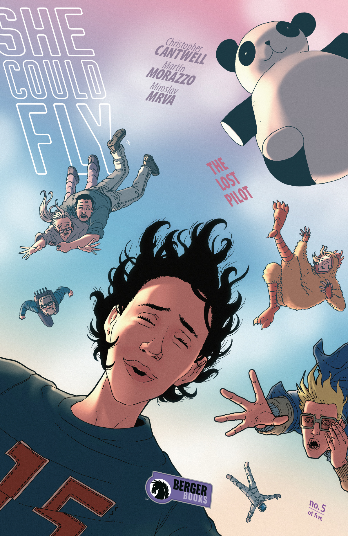She Could Fly: The Lost Pilot no. 5 (2019 Series)