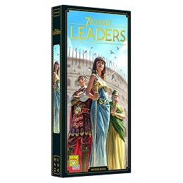 7 Wonders (Second Edition): Leaders Expansion