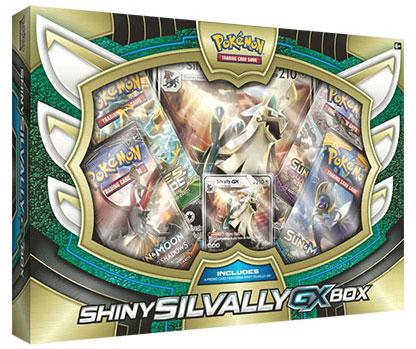 Pokemon TCG: Shiny Silvally-GX Box