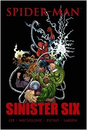 Spider-Man: Sinister Six (Marvel Premiere Edition) HC - Used