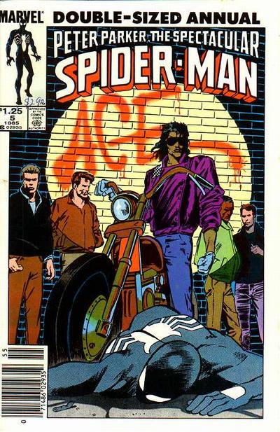 The Spectacular Spider-Man (1976) Annual no. 5 - Used
