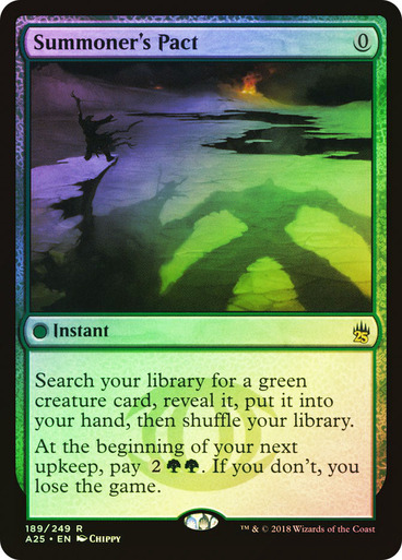 Summoner's Pact - Foil (Masters 25)