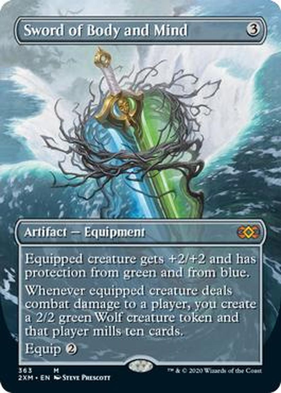 Sword of Body and Mind Full Art (Double Masters Box Topper)
