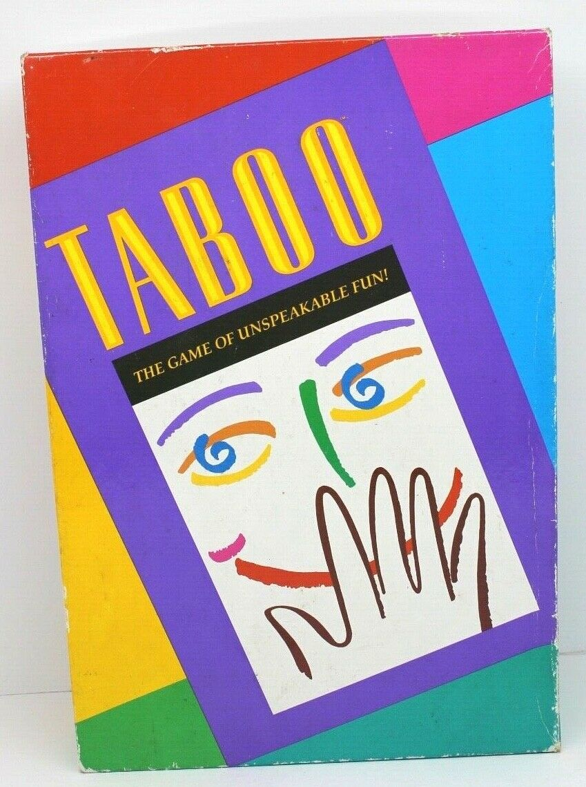 Taboo: The Game of Unspeakable Fun Board Game - USED - By Seller No: 16924 Ray Richard