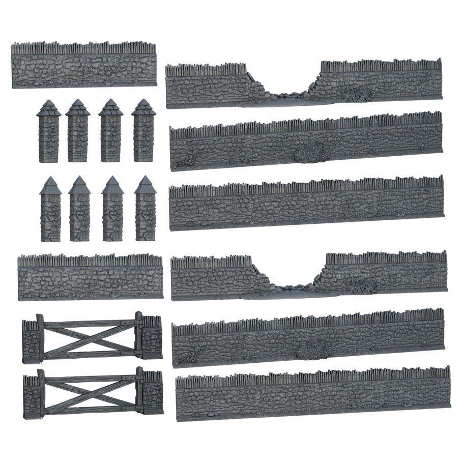 Terrain Crate: Battlefield Walls W2