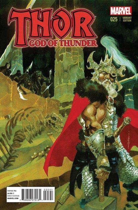 Thor God of Thunder (2012) no. 25 Guera Variant - Used