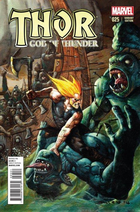 Thor God of Thunder (2012) no. 25 Bisley Variant - Used