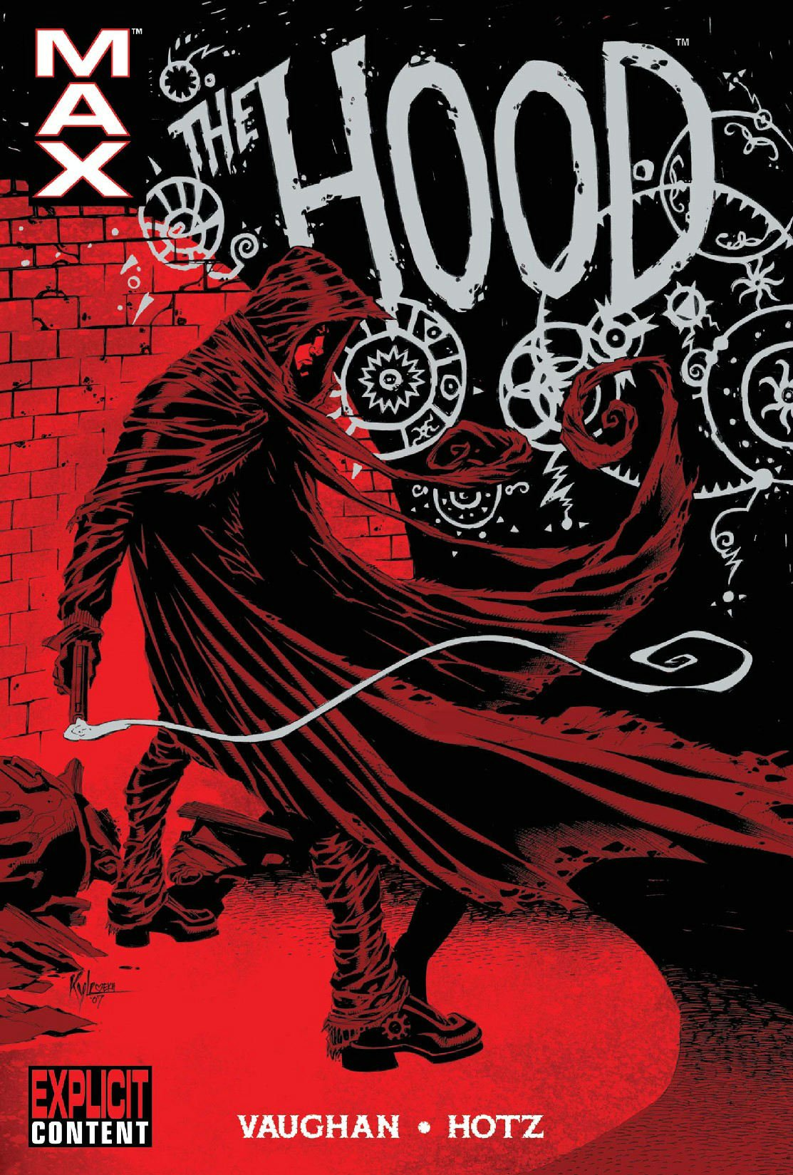 The Hood: Blood From Stones HC - Used