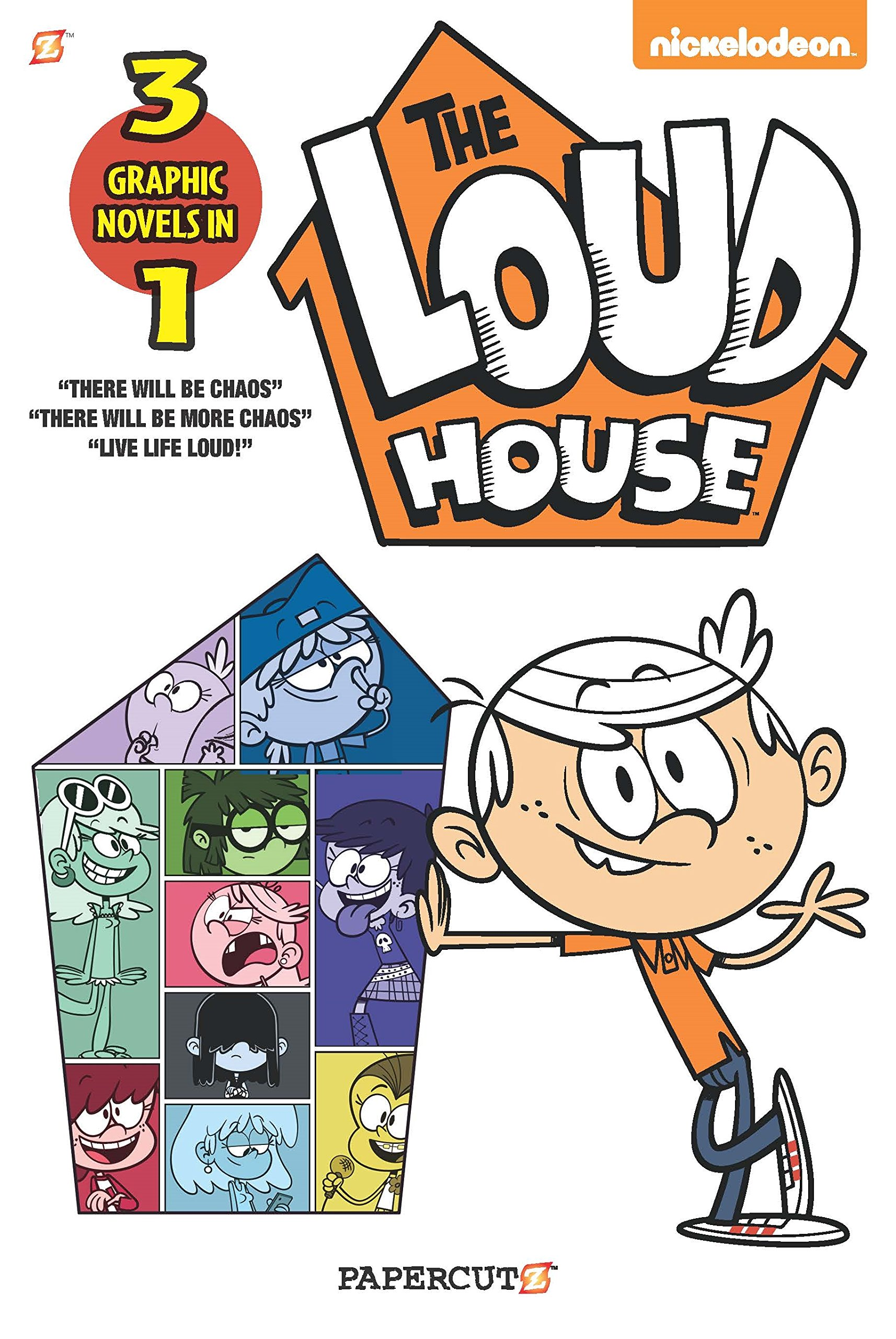 Loud House 3 In 1 Volume 1