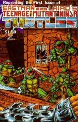 Teenage Mutant Ninja Turtles (1984) no. 1 Fourth Printing - Used