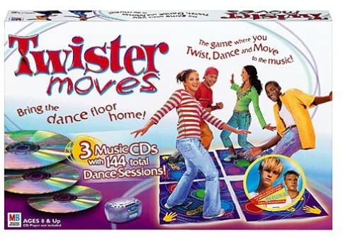 Twister Moves - USED - By Seller No: 19164 Theresa Sivec