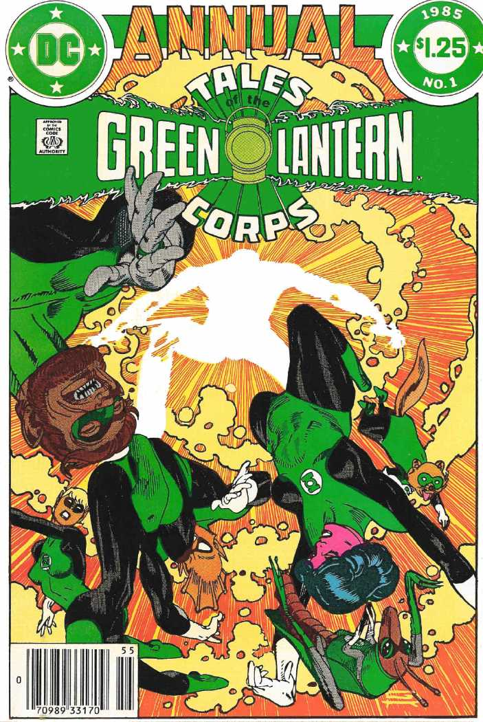 Tales of the Green Lantern Corps Annual (1981) Complete Complete - Used