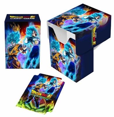 Deckbox: Dragon Ball Super: Goku Vegeta and Broly