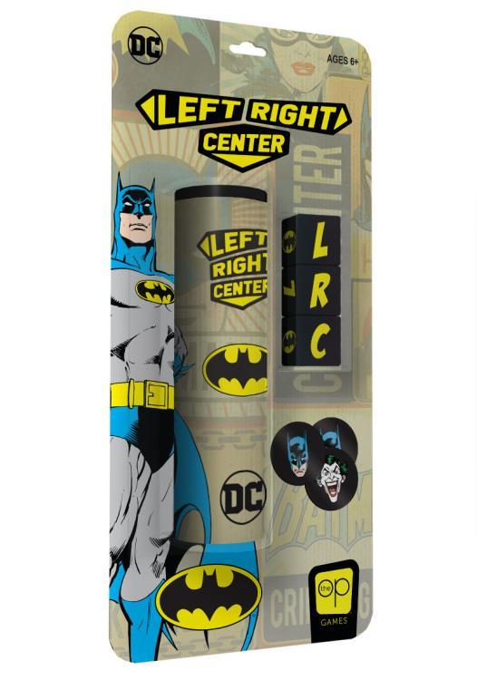 Left Center Right: Batman