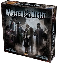 Masters of the Night Board Game