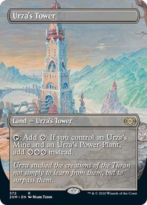 Urza's Tower Full Art (Double Masters Box Topper)