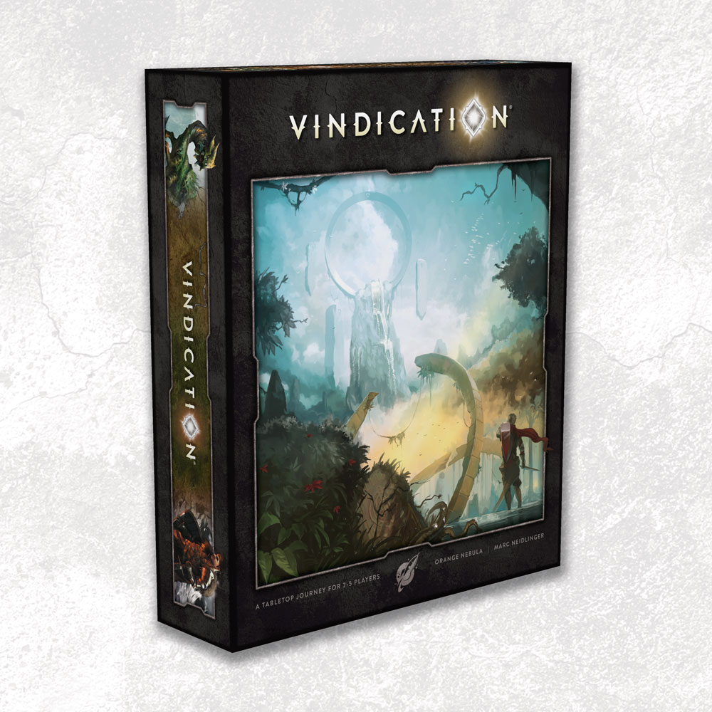 Vindication Board Game - USED - By Seller No: 5880 Adam Hill