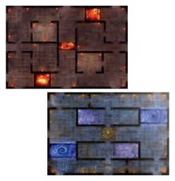Warhammer: Age of Sigmar: Warcry: Catacombs Board Pack 111-70