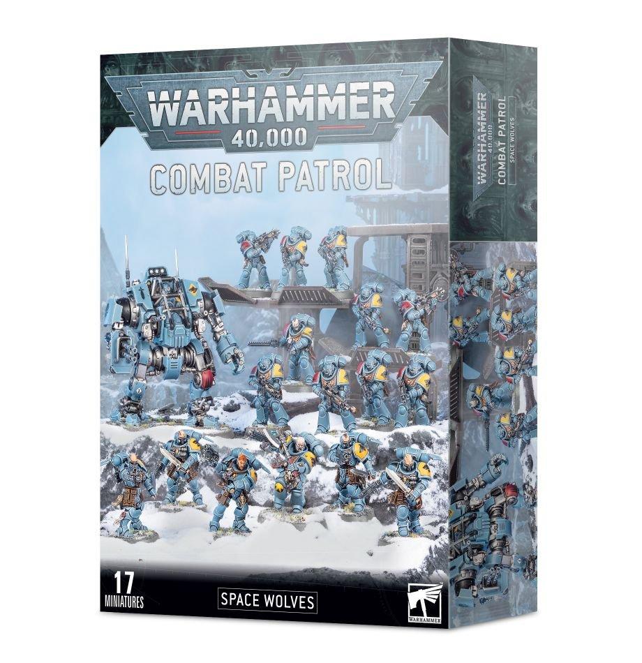 Warhammer 40K: Combat Patrol: Space Wolves 53-37
