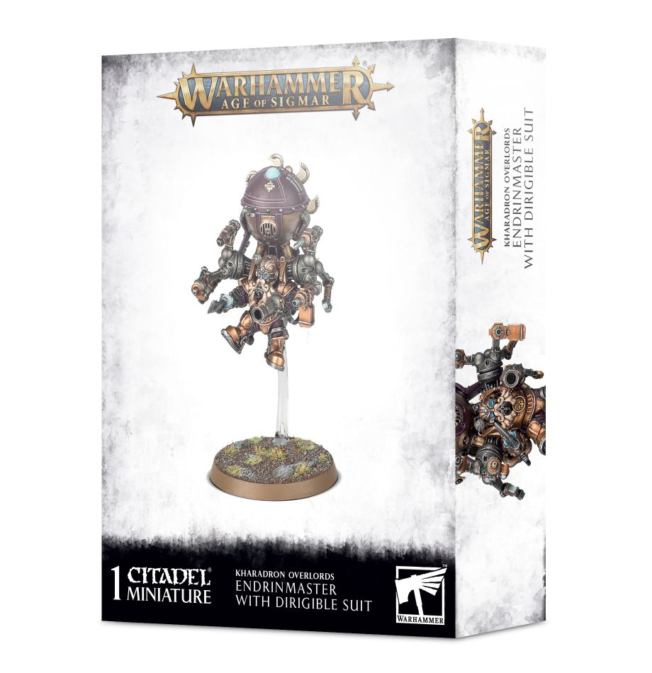 Warhammer Age of Sigmar: Kharadron Overlords: Endrinmaster with Dirigible Suit 84-42