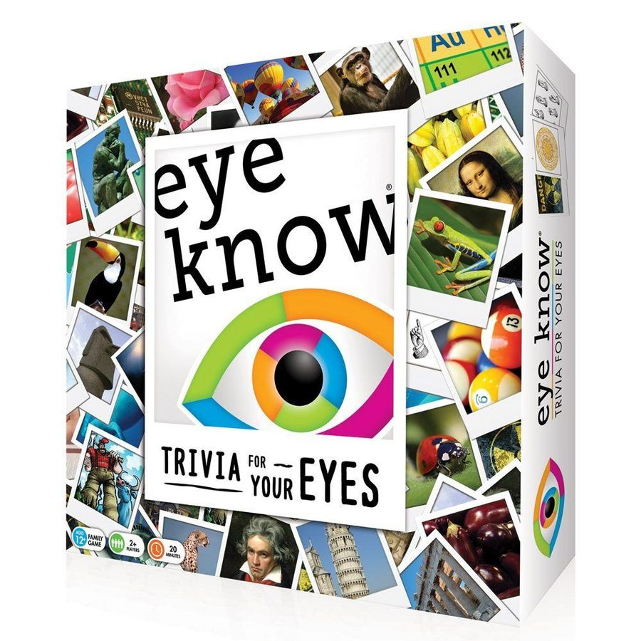 Eye Know: Trivia for Your Eyes - USED - By Seller No: 211 Jaime Kennedy