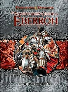 Dungeons and Dragons 3.5 ed: Adventurers Guide to Eberron - Used