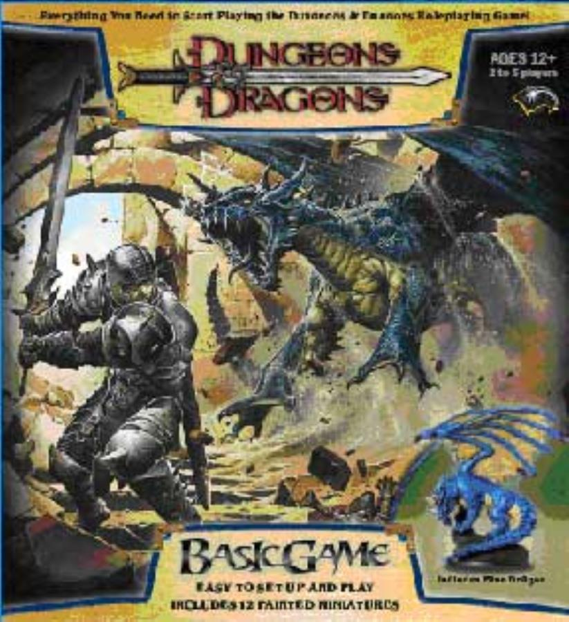 Dungeons and Dragons 3rd ed: Basic Game Box Set Revised Edition - Used