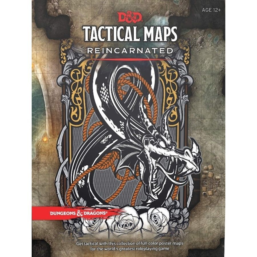 Dungeons and Dragons 5th Ed: Dungeon Tiles Reincarnated: Tactical Maps