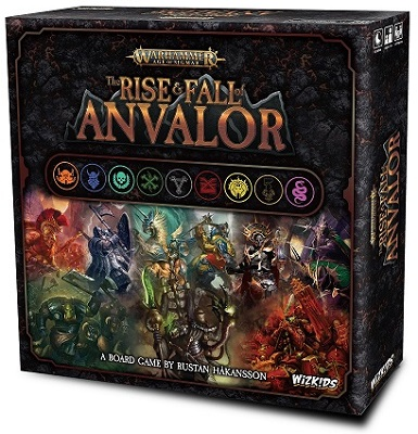 Warhammer Age of Sigmar: The Rise and Fall of Anvalor Board Game