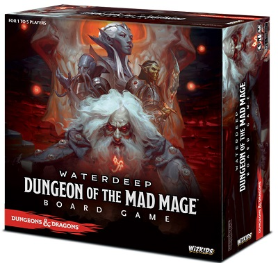Dungeons and Dragons: Waterdeep: Dungeon of the Mad Mage Board Game