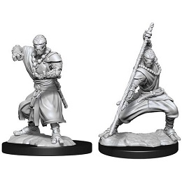 Dungeons and Dragons Nolzurs Marvelous Unpainted Minis Wave 14: Warforged Monk