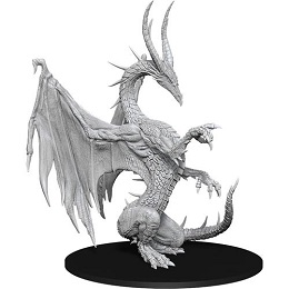 Pathfinder Battles Deep Cuts Unpainted Miniatures Wave 14: Blue Dragon