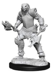 Dungeons and Dragons: Nolzur's Marvelous Unpainted Miniatures Wave 15: Female Dragonborn Fighter